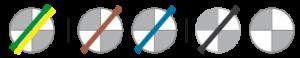 oznaczenie żył transparentnych przewodud 03VV-F  i  03VV-H2-F