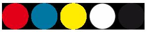 kolorystyka izolacji żył przewodów Przewód QTLY i przewodów QTLU
